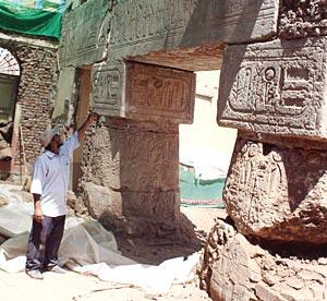 Abu el-Hagag blokke