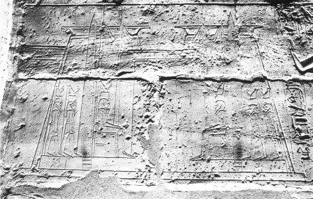 Luxor-tempel relief