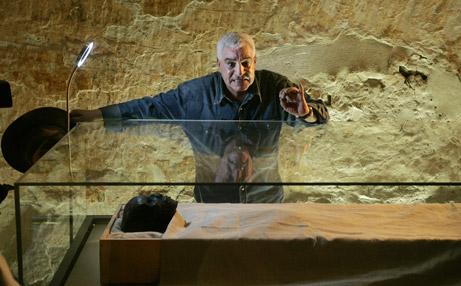 Tuts mumie udstillet