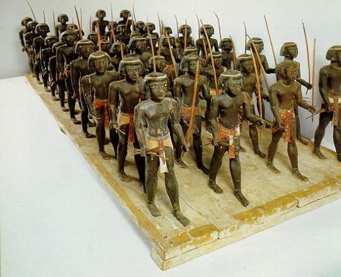 Nubiske soldater Assiut