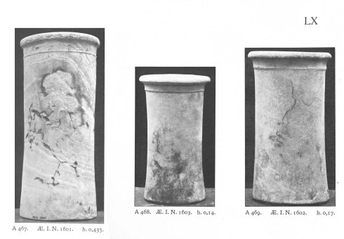 Alabaster jars Abydos