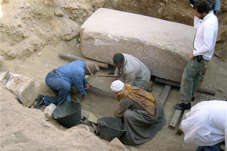 Sakkara sarkofag