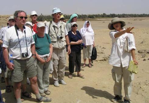 Besøg i Hierakonpolis 2007