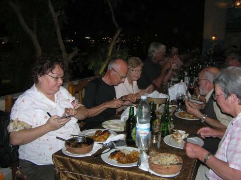 Middag med Jane Akshar