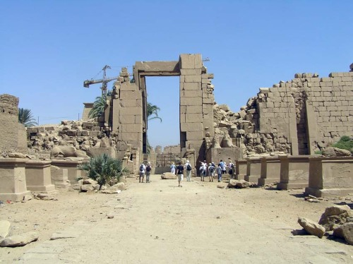 Sfinksallé Karnak-Mut